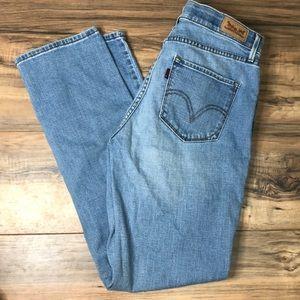 Levi's 525 straight leg jeans sz 8